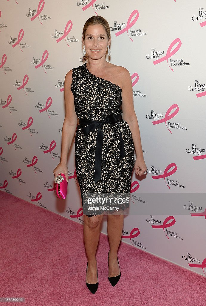 <a gi-track='captionPersonalityLinkClicked' href=/galleries/search?phrase=Aerin+Lauder&family=editorial&specificpeople=223890 ng-click='$event.stopPropagation()'>Aerin Lauder</a> attends The Breast Cancer Foundation's 2014 Hot Pink Party at Waldorf Astoria Hotel on April 28, 2014 in New York City.