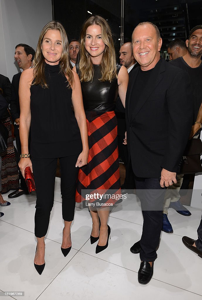 <a gi-track='captionPersonalityLinkClicked' href=/galleries/search?phrase=Aerin+Lauder&family=editorial&specificpeople=223890 ng-click='$event.stopPropagation()'>Aerin Lauder</a>, Claiborne Swanson Frank, and Michael Kors attend Kors Collaborations: Claiborne Swanson Frank on September 13, 2012 in New York City.