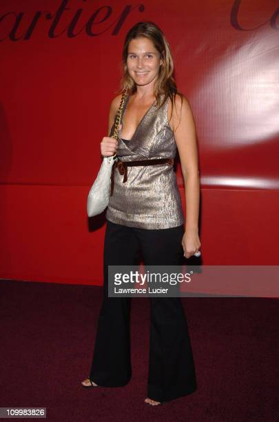 Aerin Lauder during Cartier Launches Orchid Jewelry Collection at Gotham Hall in New York City New York United States