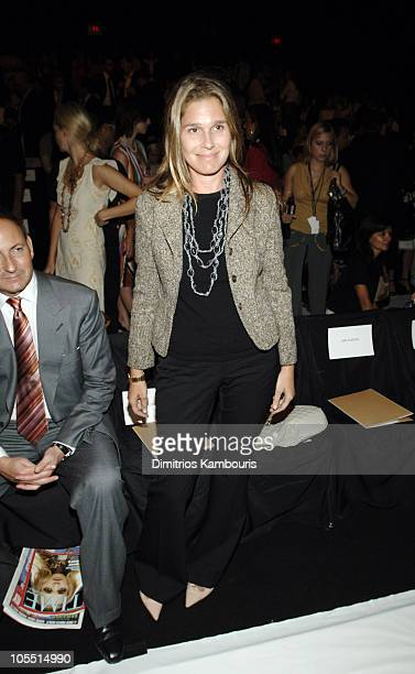Aerin Lauder during Olympus Fashion Week Spring 2006 Michael Kors Front Row and Backstage at Bryant Park in New York City New York United States