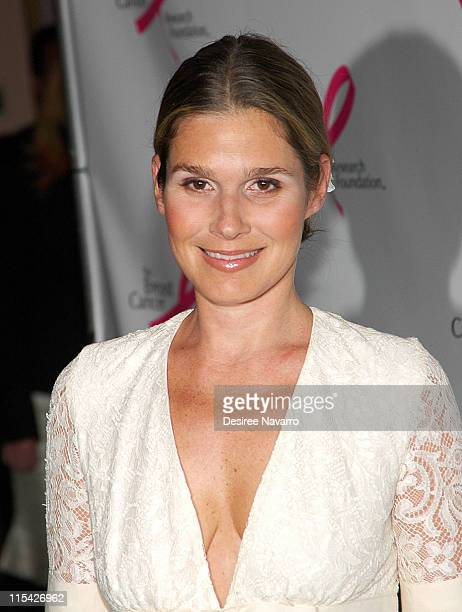 Aerin Lauder during The Breast Cancer Research Foundation Presents 'The Very Hot Pink Party' April 10 2006 at Waldorf Astoria in New York City New...
