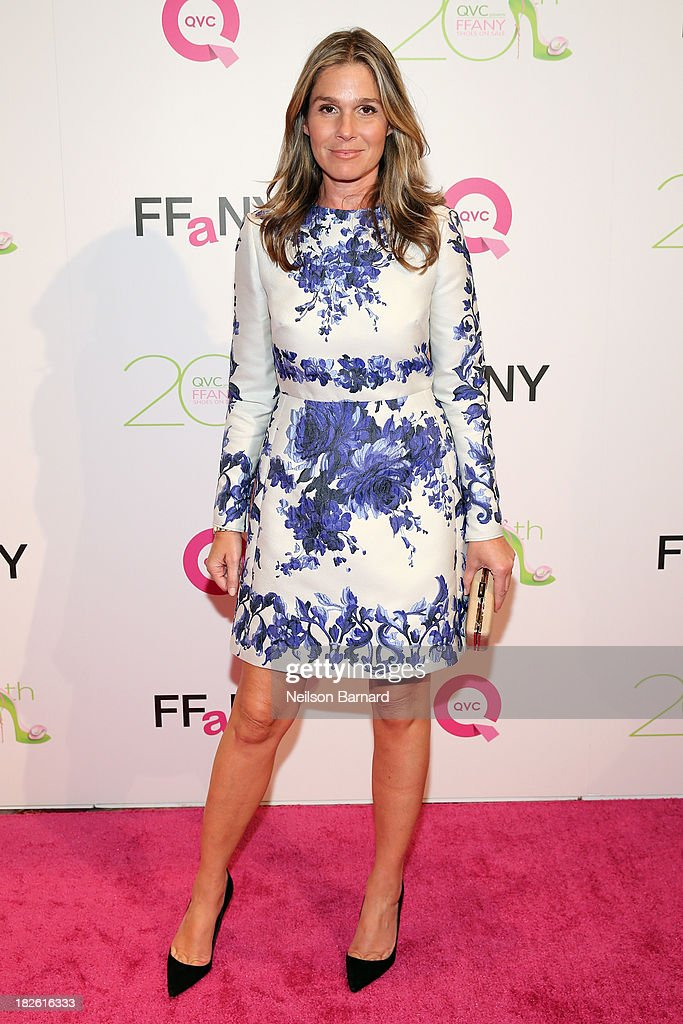<a gi-track='captionPersonalityLinkClicked' href=/galleries/search?phrase=Aerin+Lauder&family=editorial&specificpeople=223890 ng-click='$event.stopPropagation()'>Aerin Lauder</a>, Style and Image Director of Estee Lauder attends QVC Presents 'FFANY Shoes On Sale' at Waldorf Astoria Hotel on October 1, 2013 in New York City.