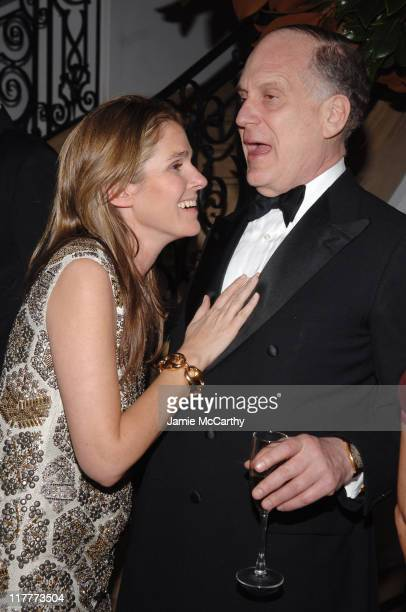 Aerin Lauder Zinterhoffer and Ronald Lauder during Gucci Hosts The Neue Gallerie New York Winter Gala December 12 2006 at Neue Gallery in New York...