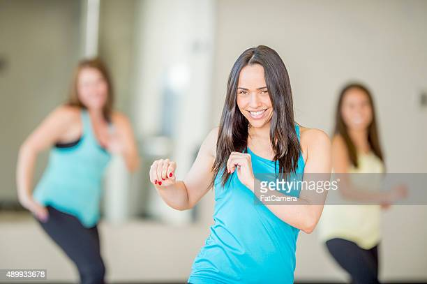 Lezione di danza aerobica