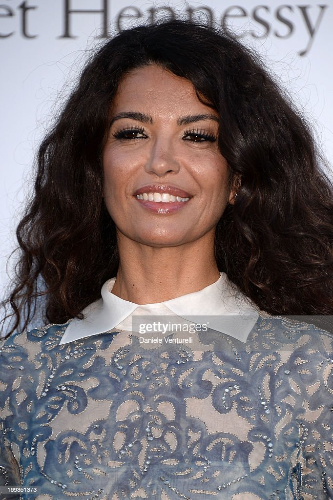 Afef Jnifen attends amfAR's 20th Annual Cinema Against AIDS during The 66th Annual Cannes Film Festival at Hotel du Cap-Eden-Roc on May 23, 2013 in Cap d'Antibes, France.
