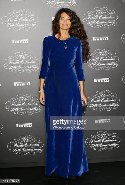 Afef Jnifen attends the Pirelli Calendar 50th Anniversary event on November 21 2013 in Milan Italy