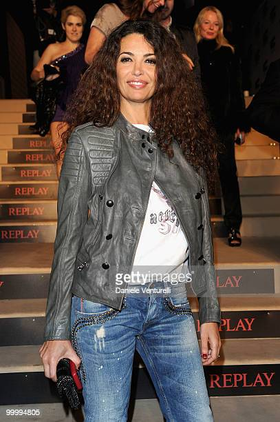 Afef Jnifen attends the Replay Party held at the Star Style Lounge during the 63rd Annual International Cannes Film Festival on May 19 2010 in Cannes...