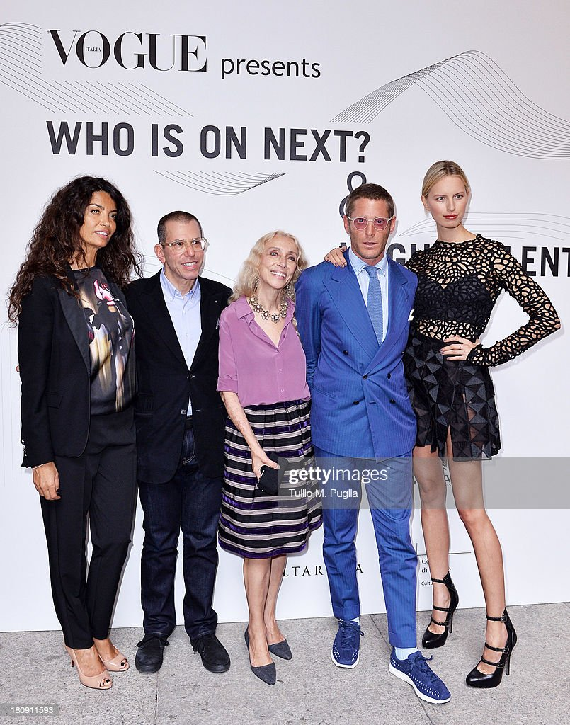 """Who is On Next? & Vogue Talents"" Arrivals"