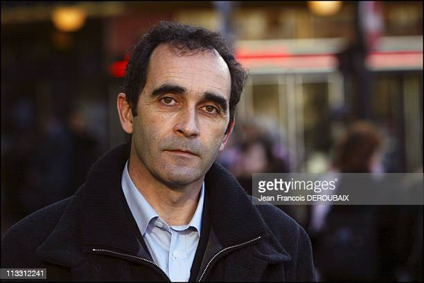 Affair Francis Heaulme 'Dans La Tete D'Un Tueur' Telefilm On Tf1 On January 12Th 2005 In Paris France The Investigator JeanFrancois Abgrall The...