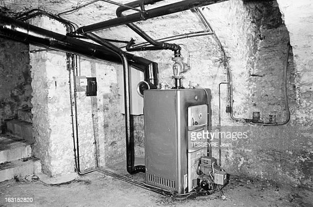 Affaire Ben Barka En France en janvier 1966 La villa d'Antoine LOPEZ à Ormoy en Seine et Oise où aurait séjourné le dissident marocain Mehdi BEN...