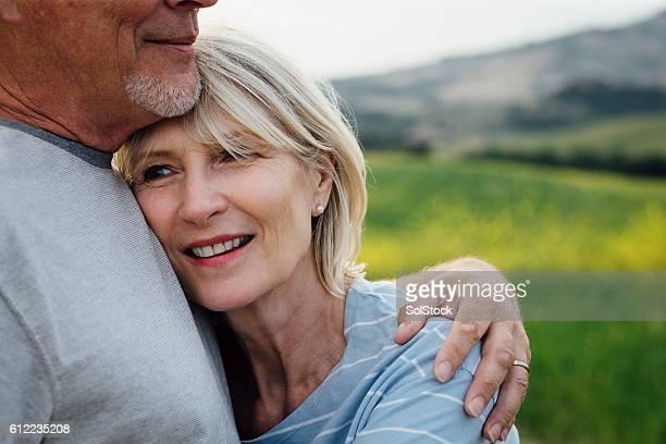 Affectueux Couple âgé