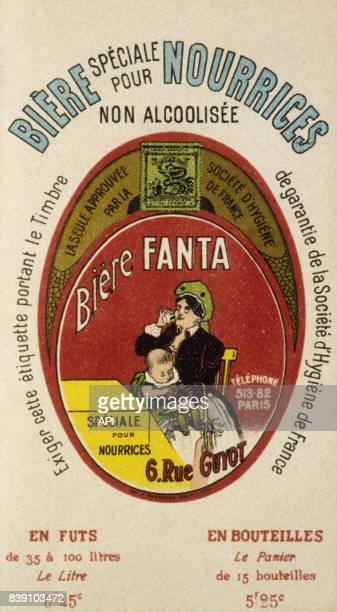 Affiche publicitaire pour la bière sans alcool 'Fanta'