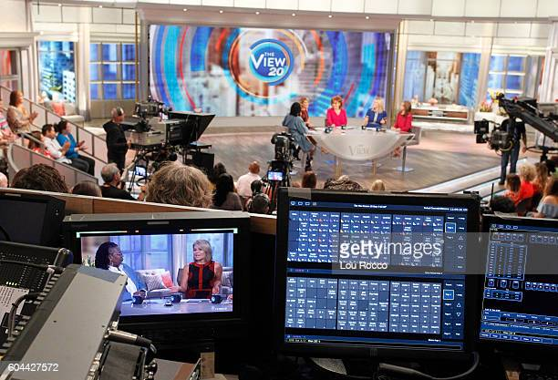 THE VIEW Affiliate sweepstakes winners visit the set of 'THE VIEW' 9/13/16 airing on the ABC Television Network BILA