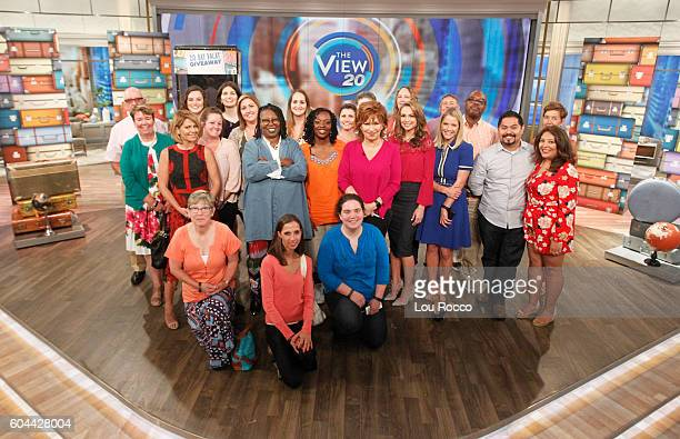 THE VIEW Affiliate sweepstakes winners visit the set of 'THE VIEW' 9/13/16 airing on the ABC Television Network WINNERS