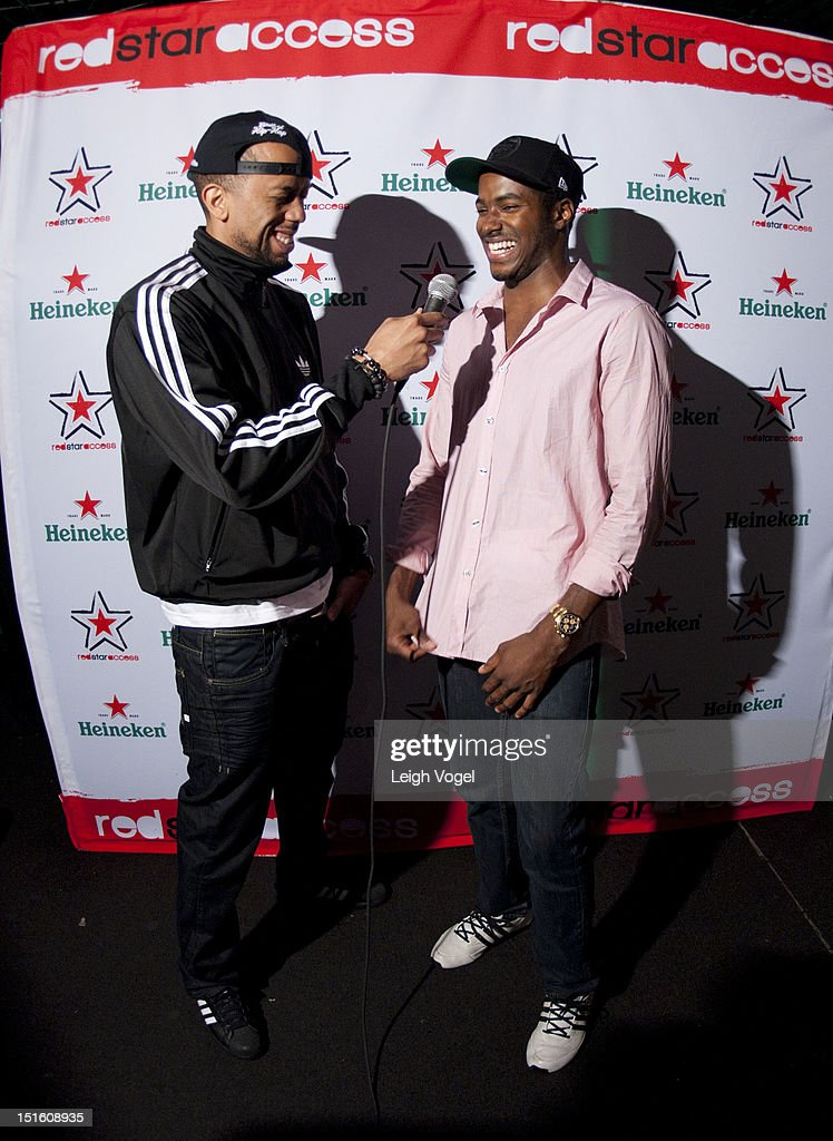 Affion Crockett and DJ Ruckus attend Heineken Red Star Access D.C. featuring Rev. Run, B.o.B. And DJ Ruckus on September 8, 2012 in Washington City.