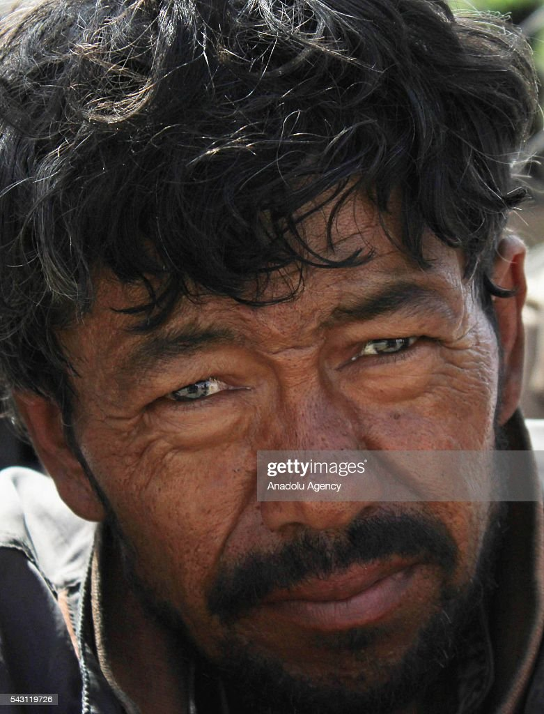 Afghan drug addicted waits to register in Jangalak hospital and shelter for drug addicts in Kabul, Afghanistan, on June 26, 2016. In December 1987 the UN general assembly decided to observe June 26 as the international day against drug abuse and illicit trafficking.
