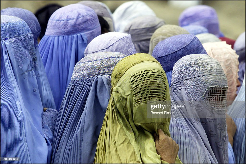 Afghan women who have fled the Taliban persecutionfind refuge in Djabel Al Sardj in the Anaba district.