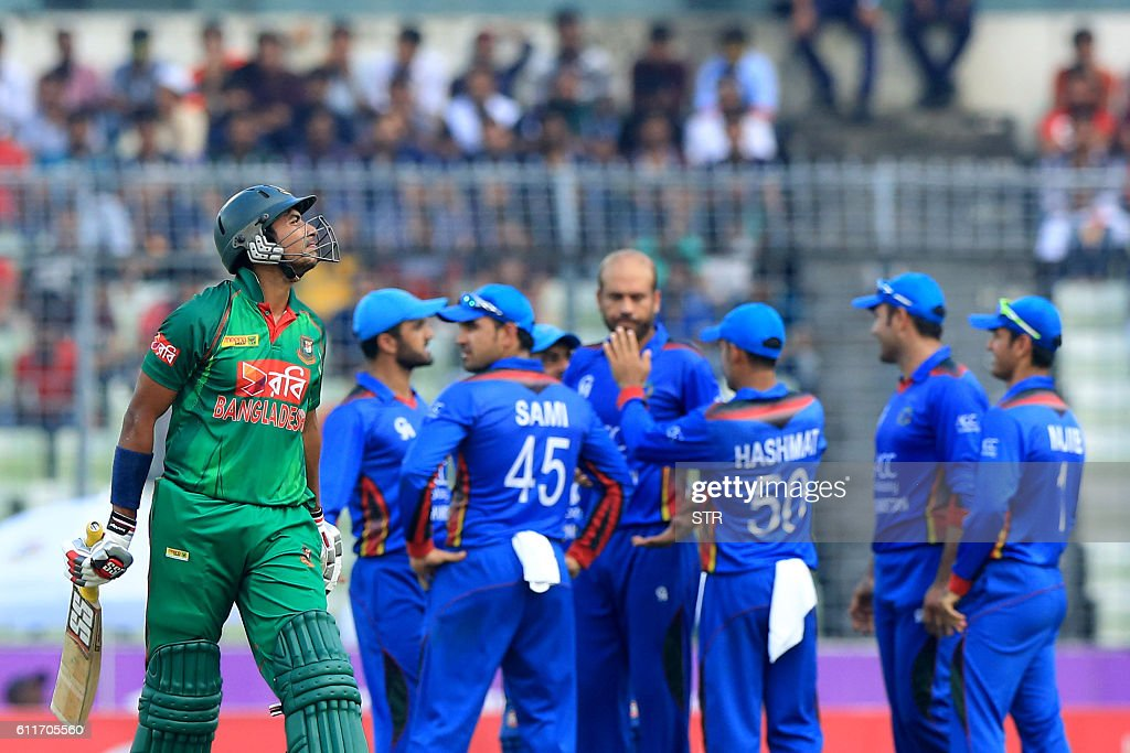 CRICKET-BAN-AFG : News Photo