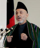 AFG: 7th December 2004 - Hamid Karzai Sworn in as 1st Democratically Elected Afghan President