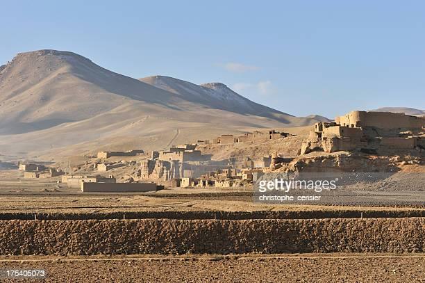 Afghanistan village, Bamyan beschieden war, gehen
