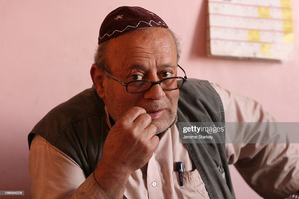 Afghanistan's only known Jewish inhabitant, Zebulon Simantov, in his home which is a room in the country's only functioning synagogue, on Flower Street, in Kabul. Simantov was born in Herat in 1959. He married a Jewish woman from Tajikistan in 1992 and they moved to Israel together in 1998, but he only stayed for two months. The only other known Jew in Kabul died in 2005. The two men famously hated each other. Both blamed the other for losing their ancient copy of the Tora, when the Taliban were in power. There used to be around 40,000 Jews in Afghanistan, many of whom had fled persecution in neighbouring Persia, but an exodus to Israel began in 1948.