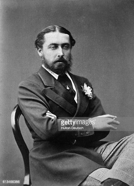 Aflfred Duke of Edinburgh and Prince of SaxeCoburgGotha the second son of Queen Victoria