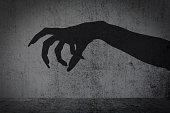 afraid of a big monster claw shadow