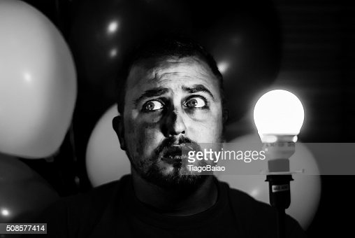 Afraid. : Stock Photo