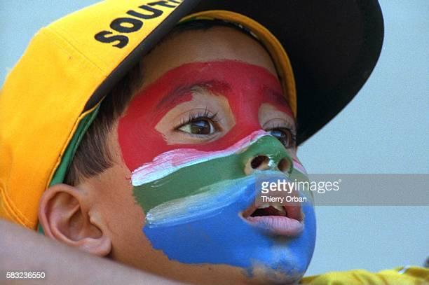 SOCCER africa african cup denmark child children team world south fan