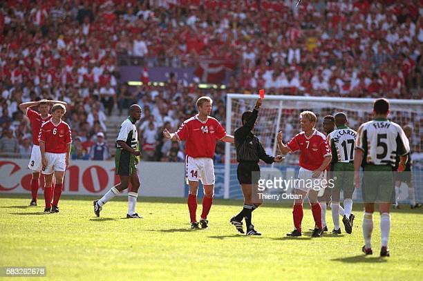 SOCCER africa african referee card cup denmark team world red south