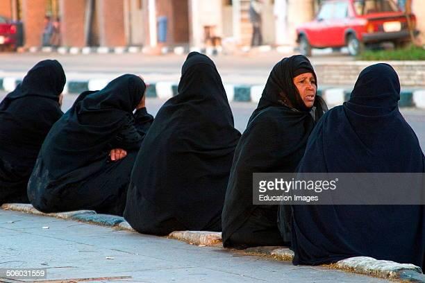 Africa Egypt Assuan Daylife Islamic Women