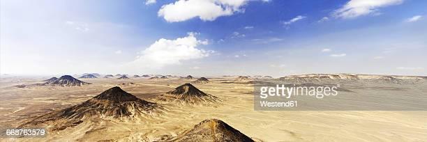 Africa, Egypt, New Valley Governorate, Farafra, Black Desert