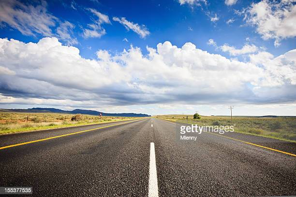 Africa Lonely Highway