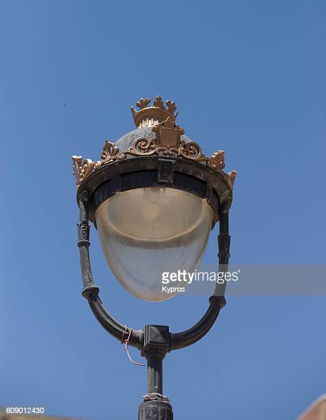 Africa, North Africa, Morocco, Fez Area, View Of Lamp Post
