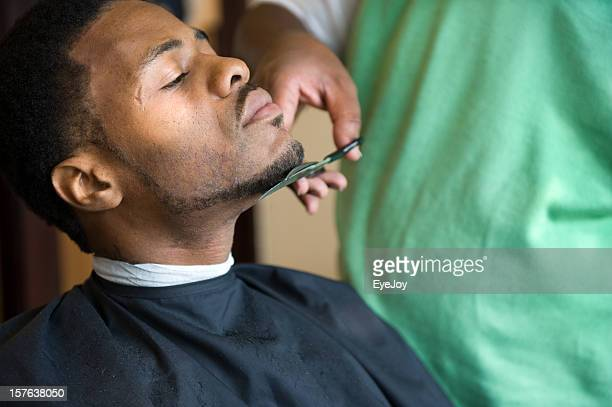 African American Barber Shop Trim