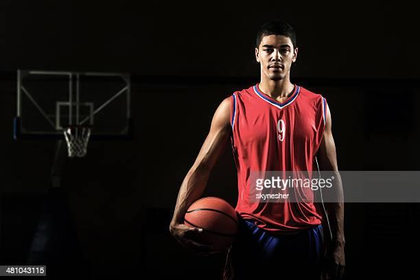 African American basketball player.