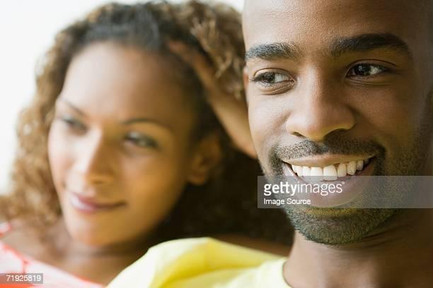Afroamerikanischen Paar
