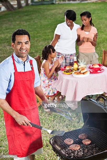 African American family cookout