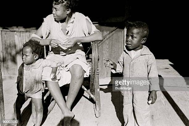 African American Family of Negro sharecropper Little Rock Arkansas