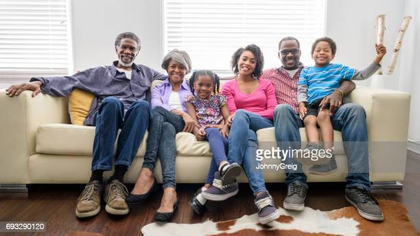 African American family portrait