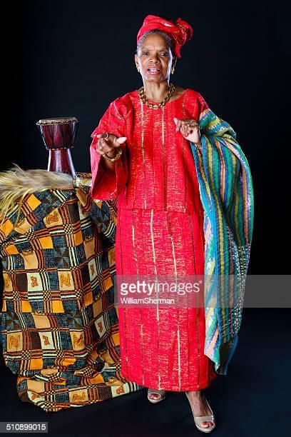 African American Female Storyteller