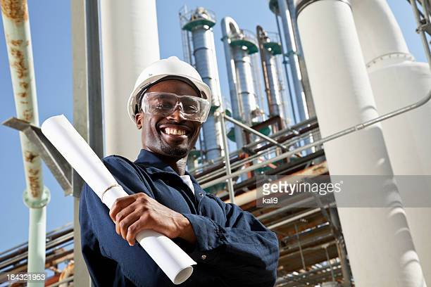 African American Industrie Arbeiter