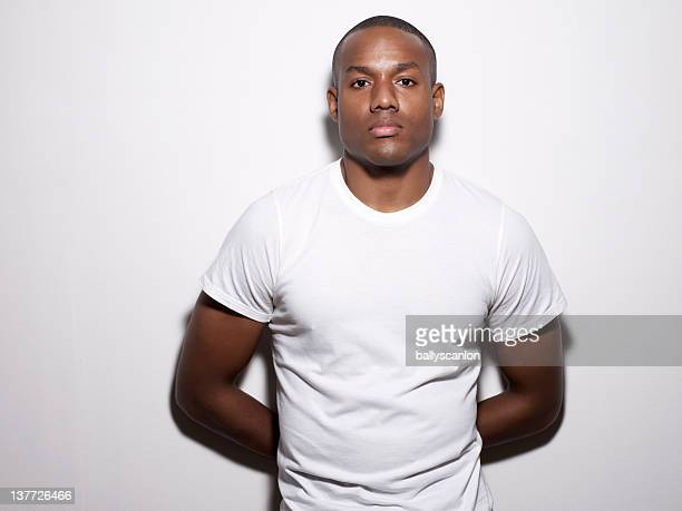 African American Man Looking At Camera.