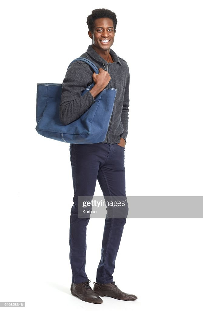 African American man. : Stock Photo