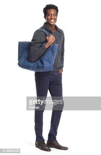 African American man. : Stock Photo