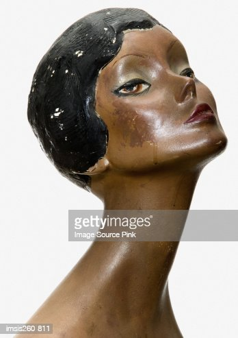 African american mannequin : Stock Photo
