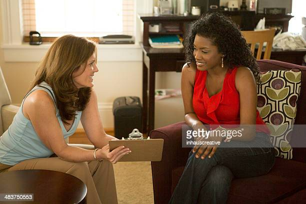 African American Woman in Counseling Session