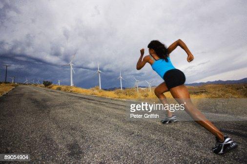 African American woman : Foto stock