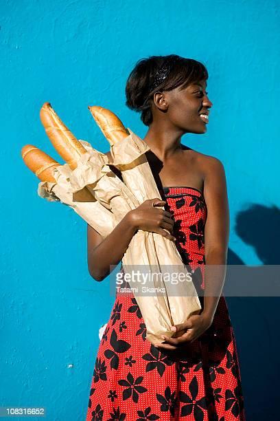 African Baguette girl