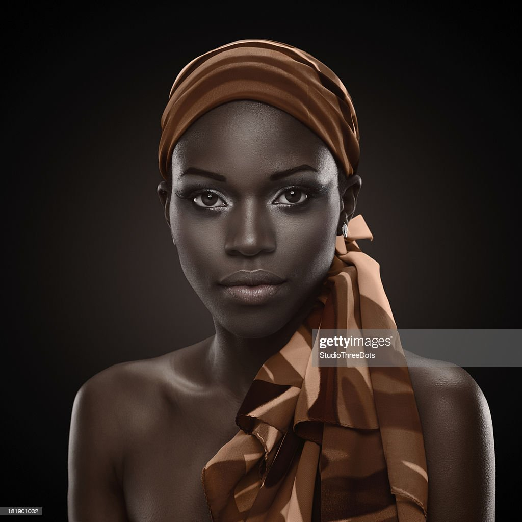 African Beauty: African Beauty Stock Photo